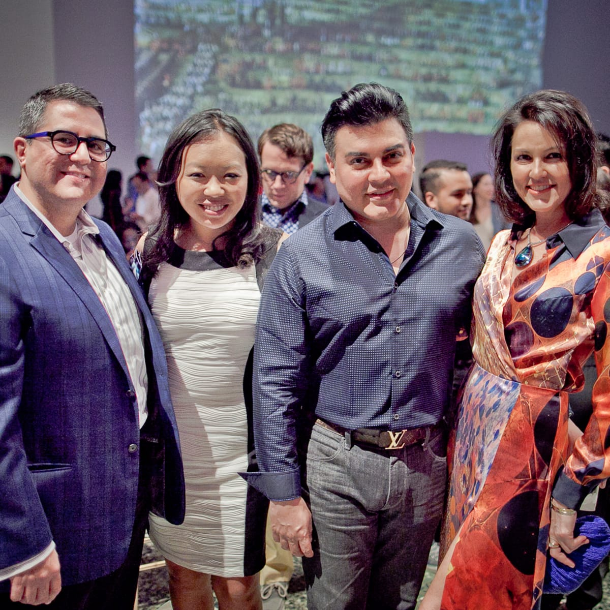 Houston, Fashion Fusion, June 2015, Roland Maldonado, Miya Shay, Edward Sanchez, Jessica Rossman