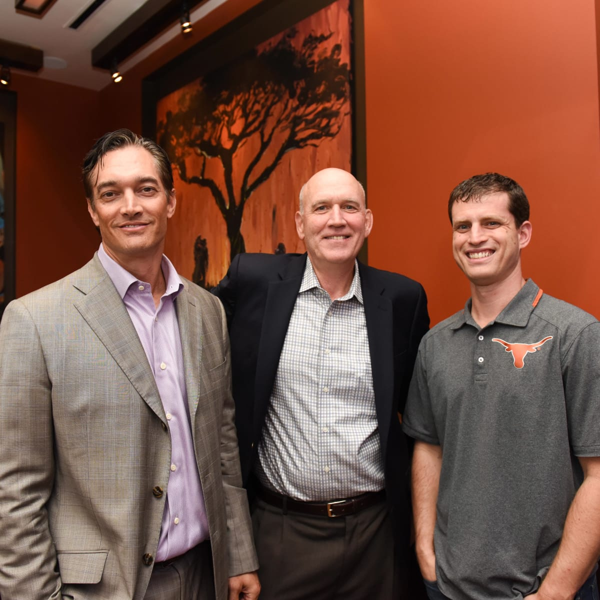 Houston, George Springer Bowling Benefit Kick Off, June 2015, Jim Colasanto, Ed Brown, Tony Sullivan