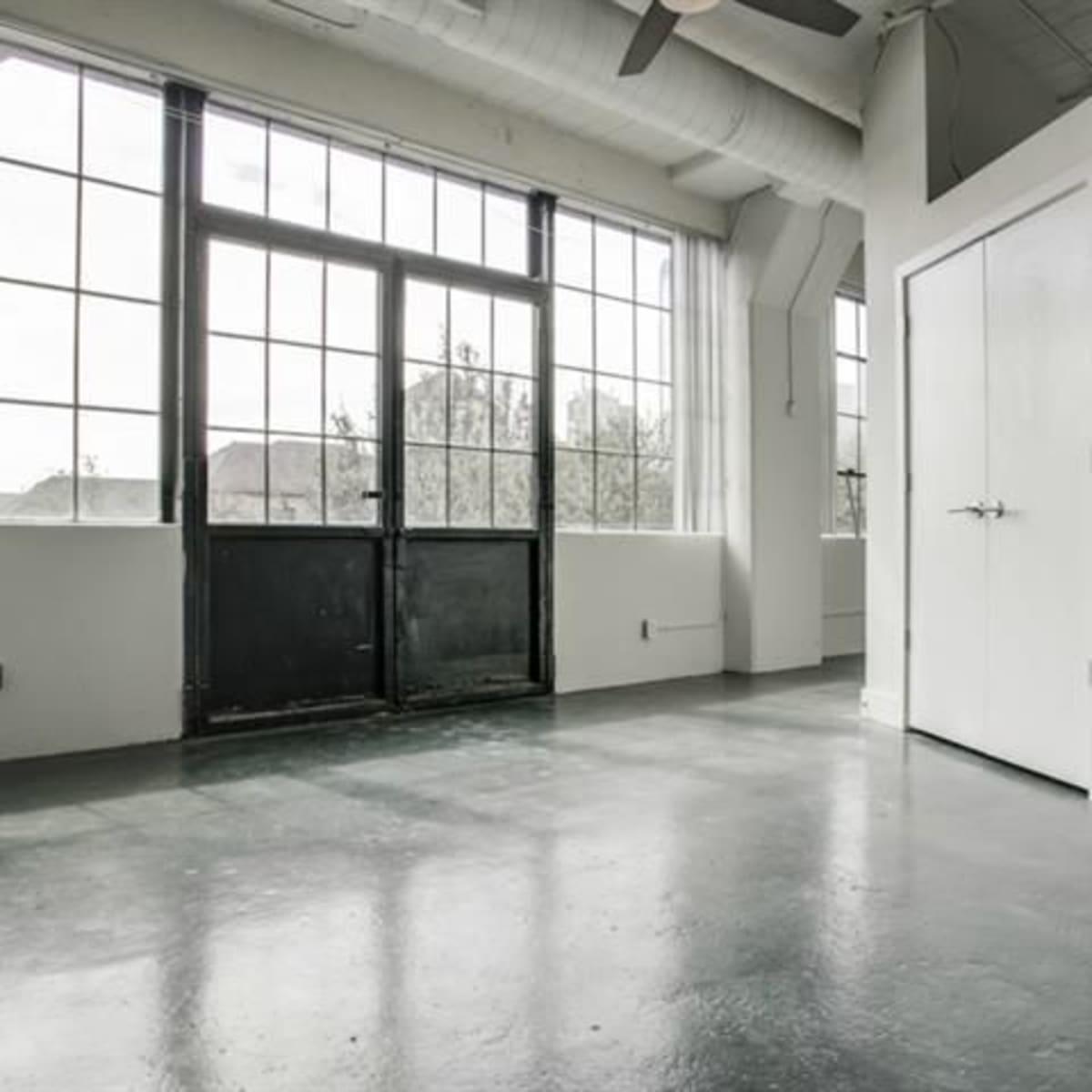 Interior of 2220 Canton St. in Dallas