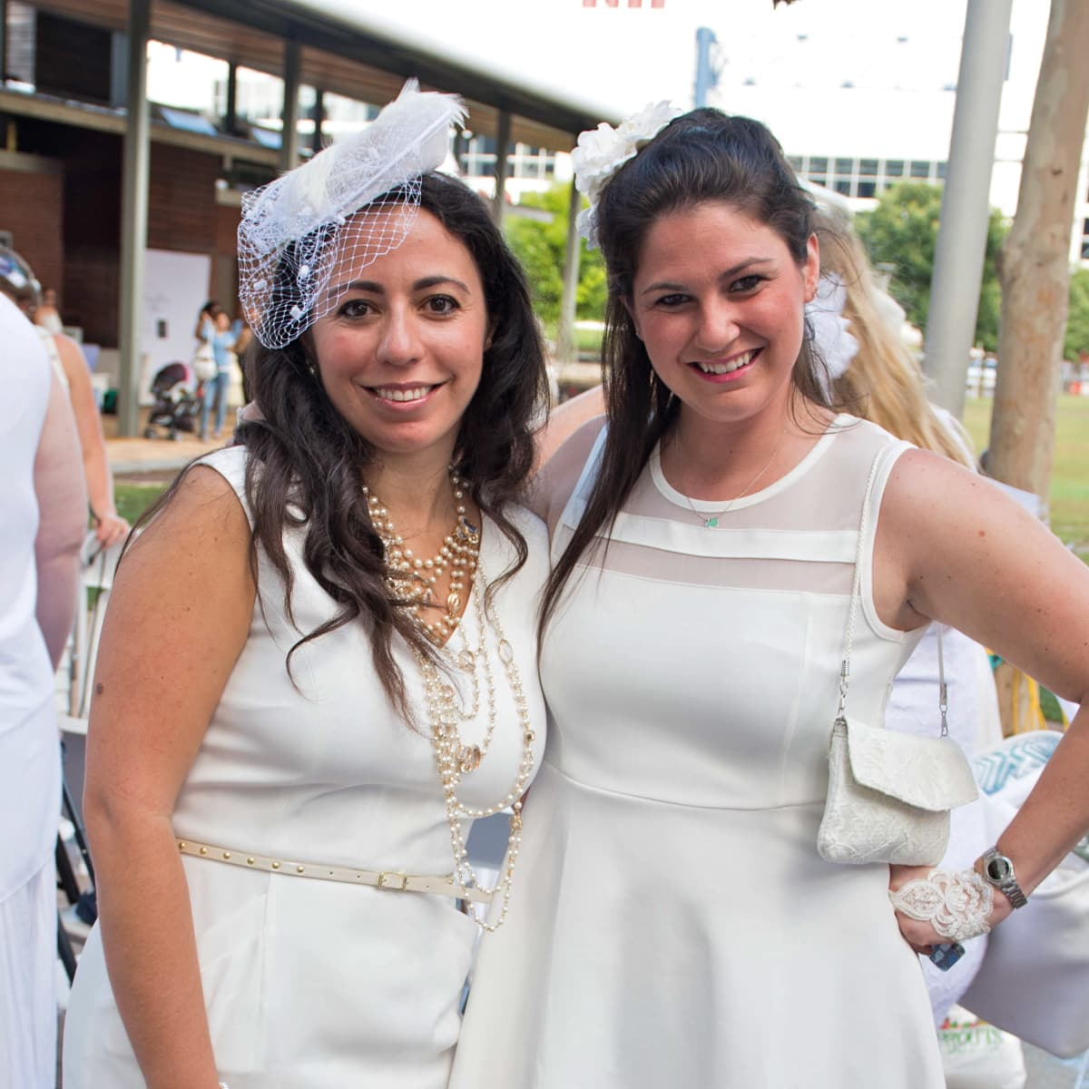 Houston, Diner en Blanc, June 2015, Sandy Safi, Samantha Vandzura