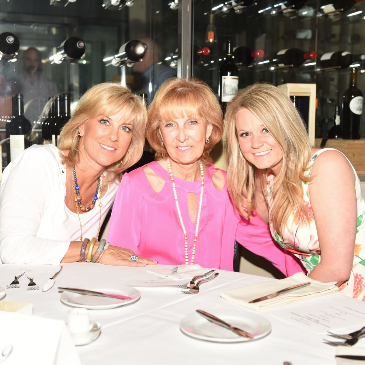 News, Roger Clemens at Vallone's, June 2015, Debbie Clemens, Jan Wilde, & Callie Spry