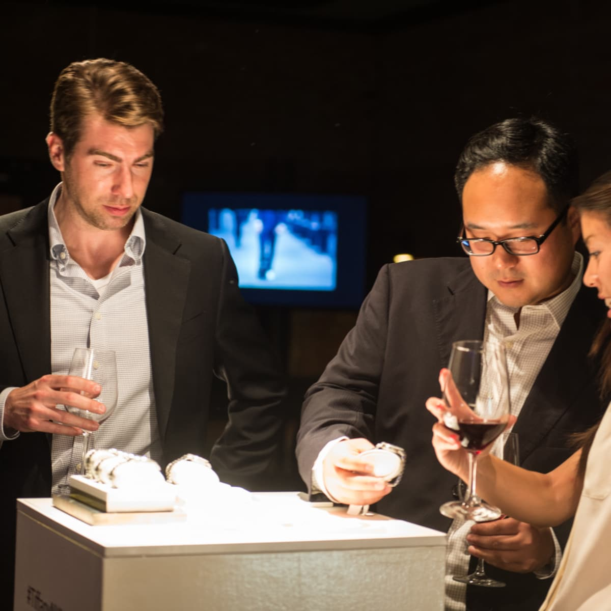Camerata and Tiffany Watch Launch Brad Gilde, Randy Ho and Winnie Yu