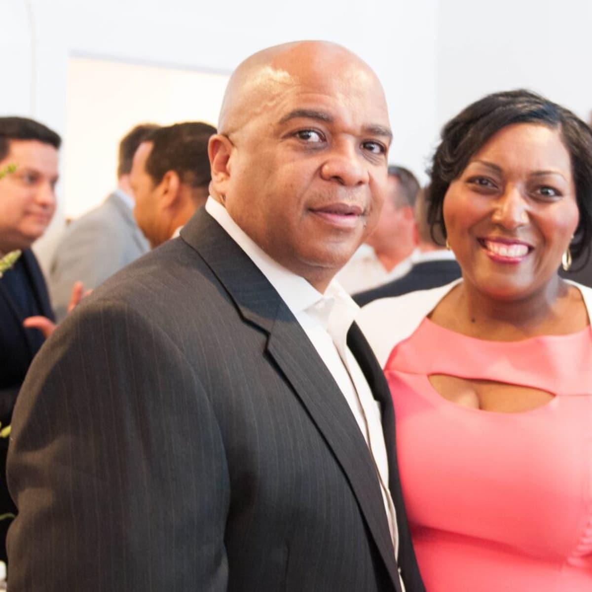Houston, Engel and Völkers Launch Party, June 2015, Pierre Chatman Sr., Chantera Chatman