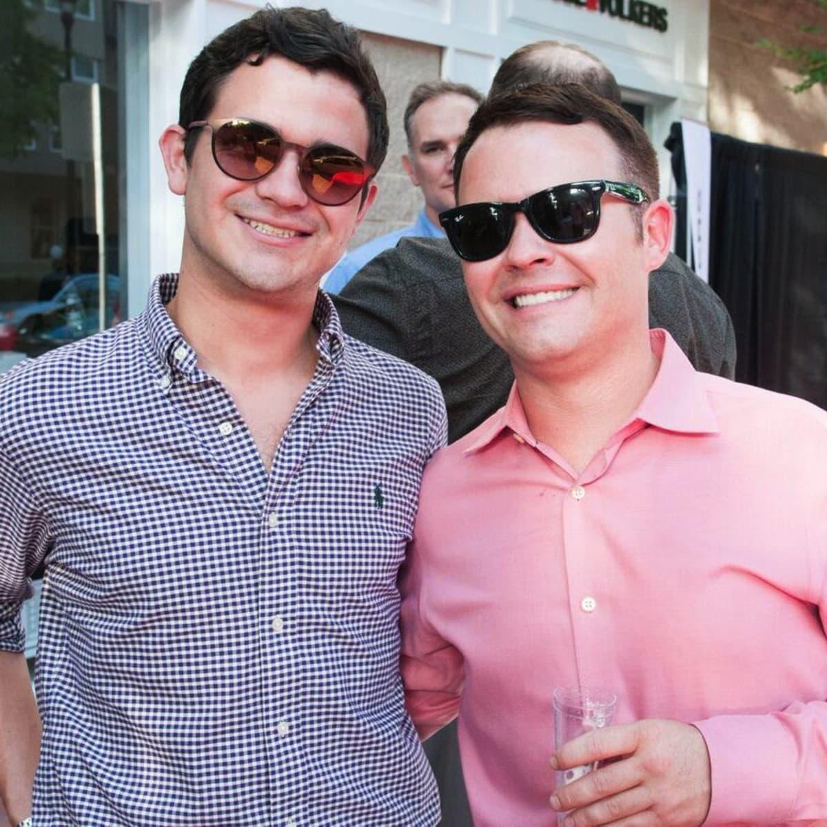 Houston, Engel and Völkers Launch Party, June 2015, Brennan Hermier, Matthew Curtis