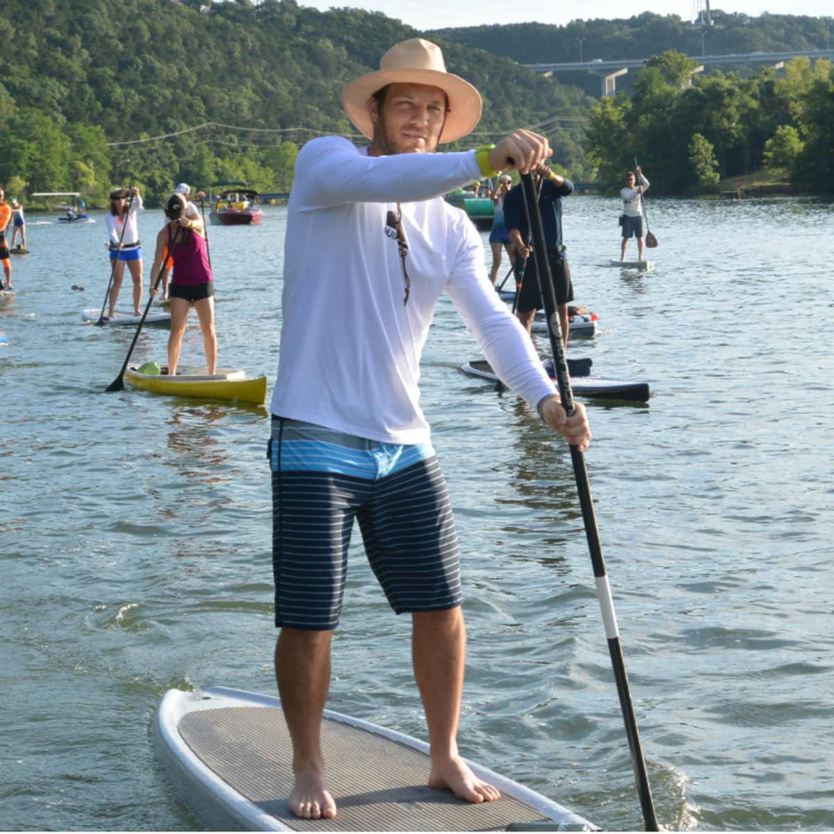 Tyler's Dam That Cancer_Flatwater Foundation_stand up paddle boarding_Lake Austin_Alex Earle_2015