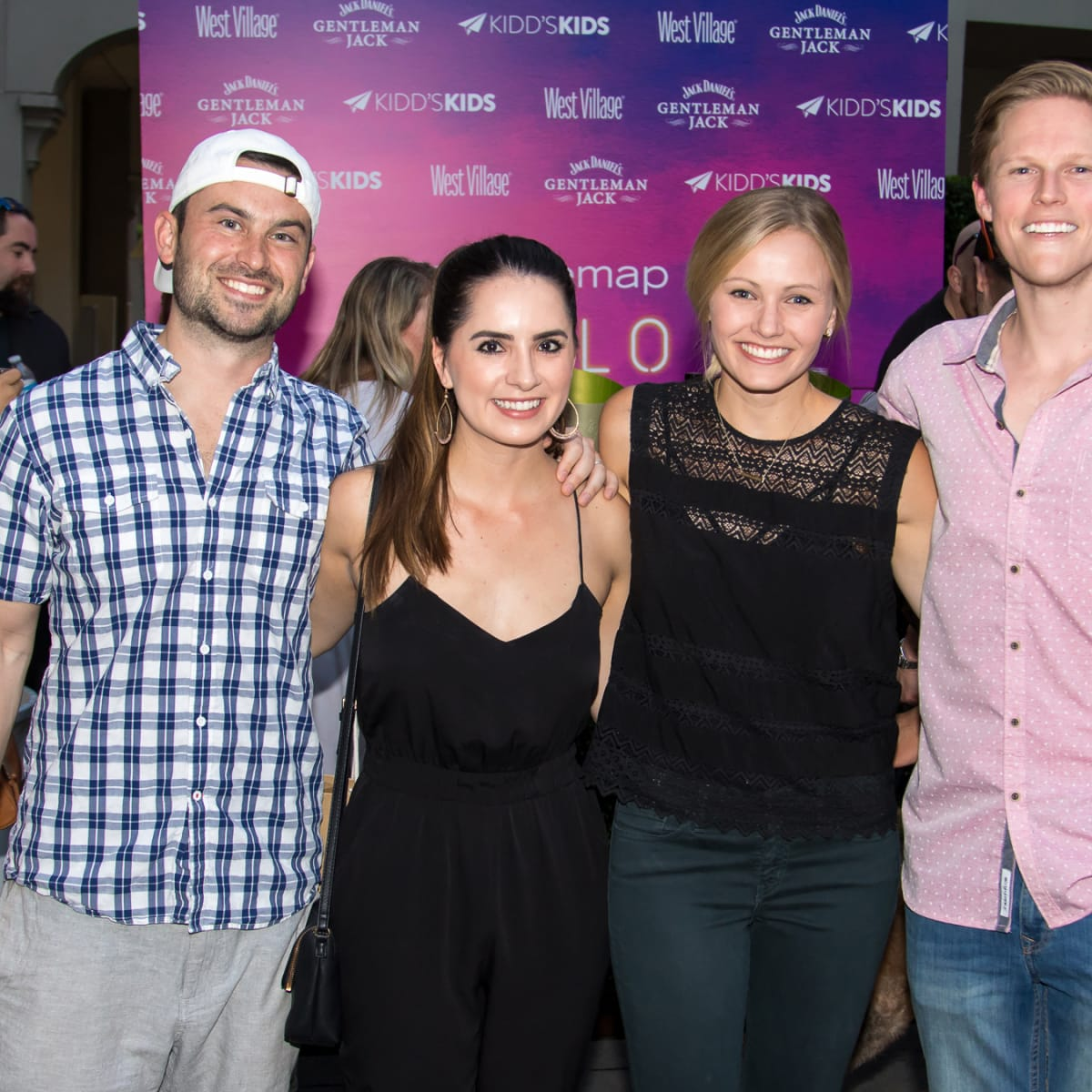 Guests at the Hello Summer Social 2017