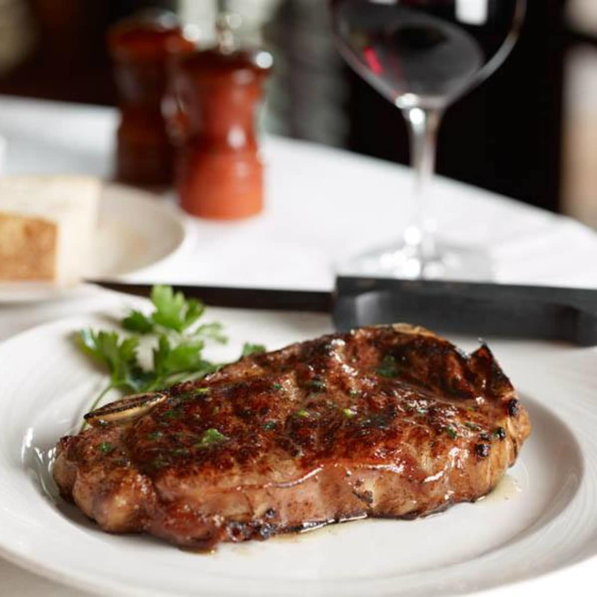 The Palm steak