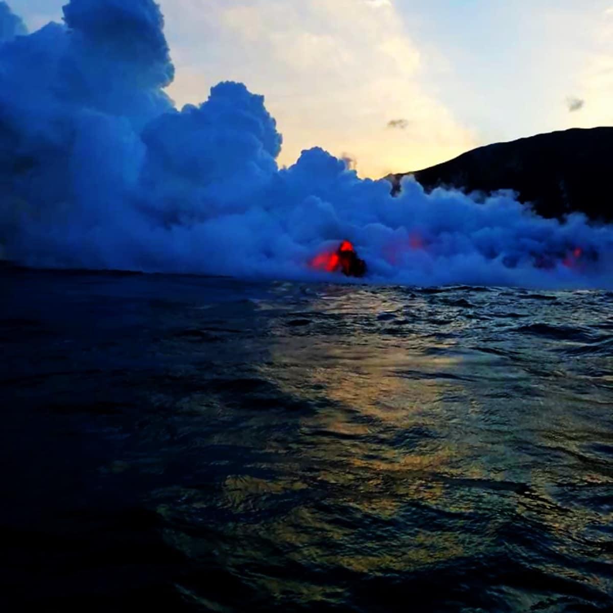 Big Island Lava boat ride