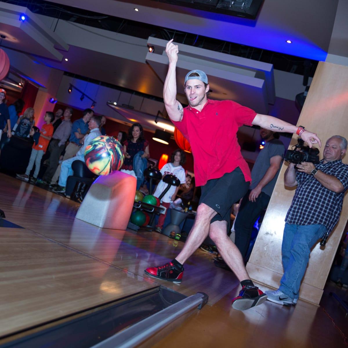 Houston, George Springer All Star Bowling Benefit for Camp Say, June 2017, Josh Reddick