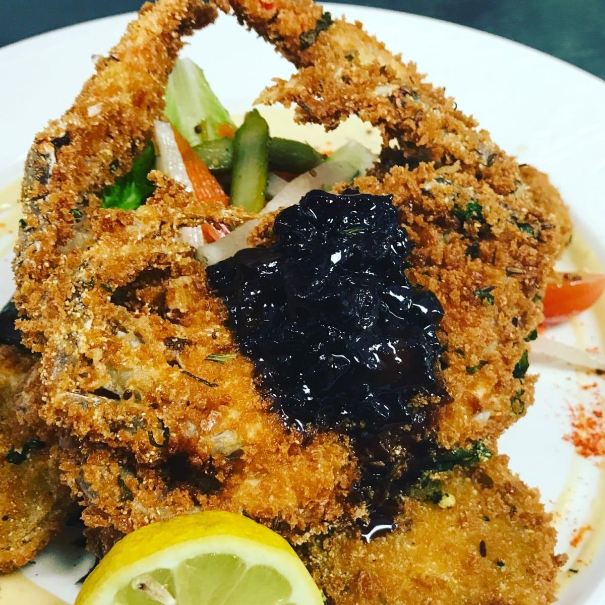 Kiran's soft shell crab