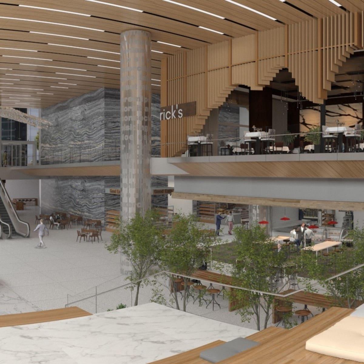 Capitol Tower steps in VR rendering