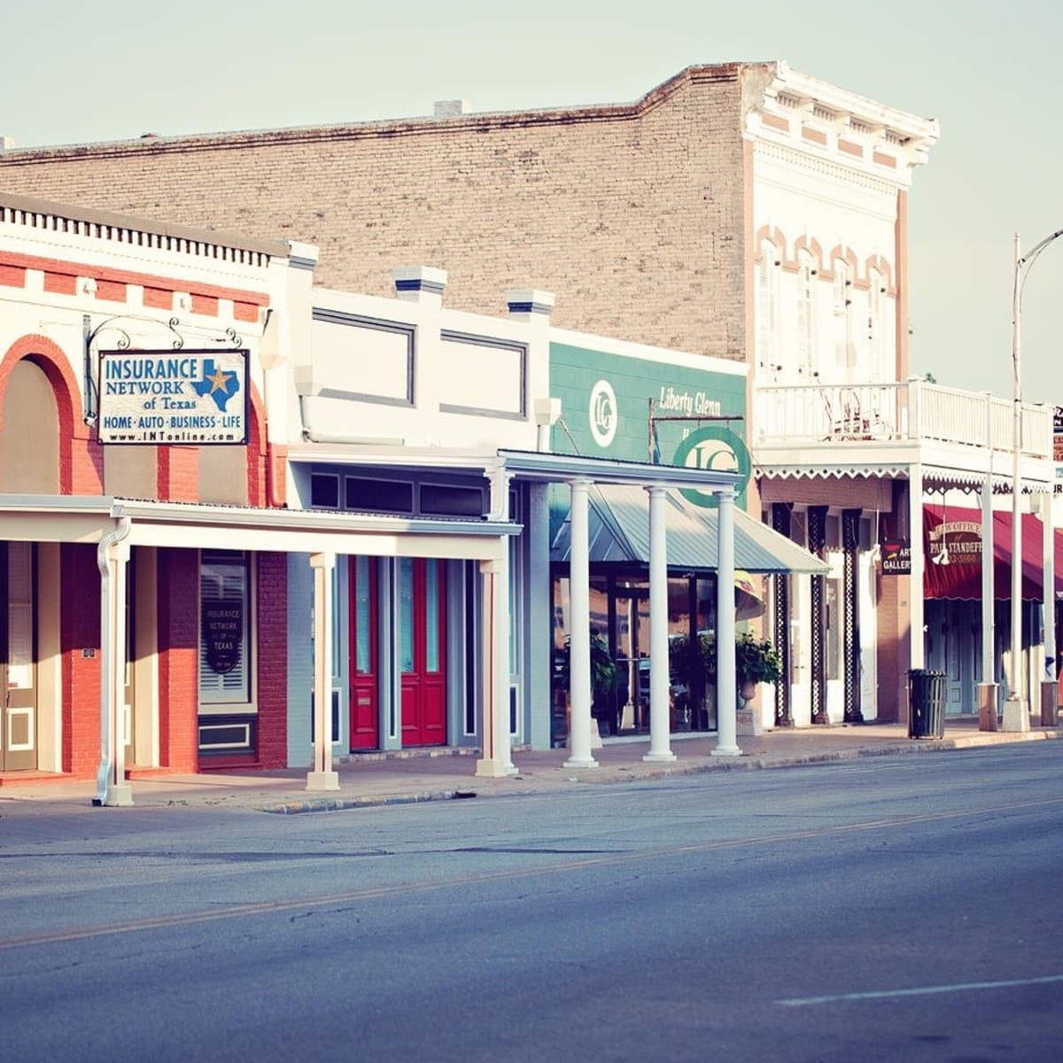 Main Street in Bastrop Texas