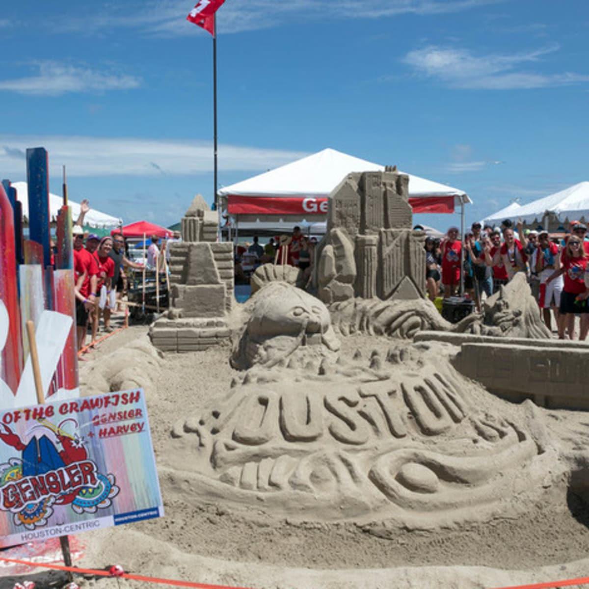 Houston, Houzz series, June 2017, Sandcastle contest, Return of the Crawfish