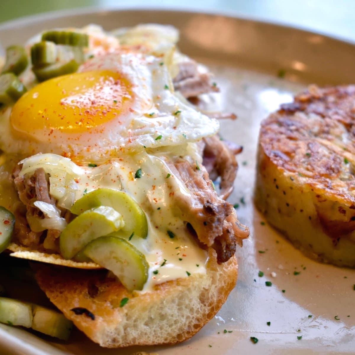 Houston, fancy breakfast sandwiches, June 2017, Havana Dreaming, Snooze eatery