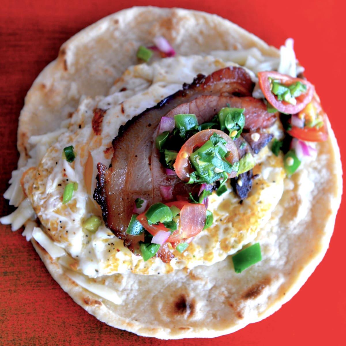 Houston, new brunches, July 2017, Fusion Taco, Huevos Rancheros