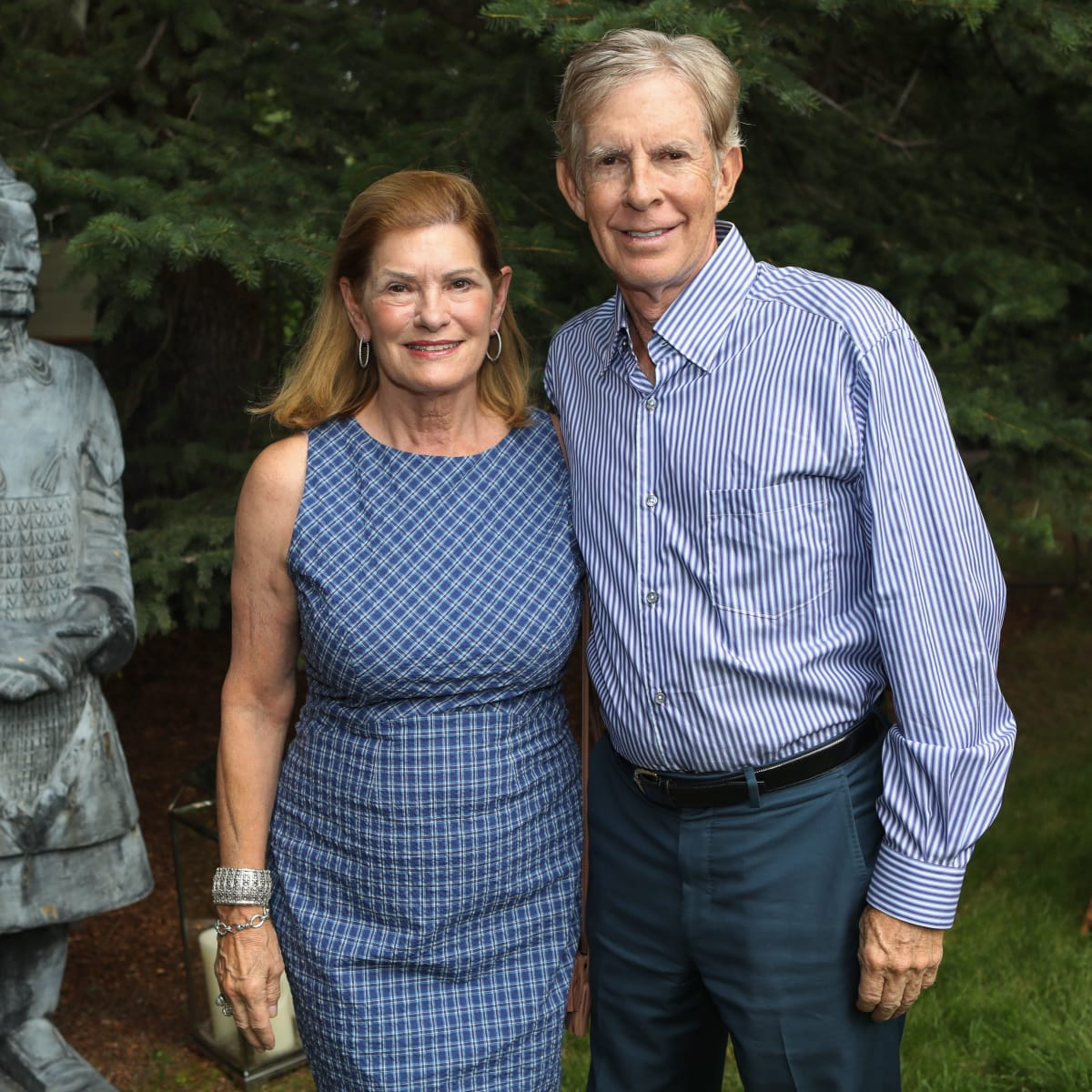 Allison and Jack Jensen at Hines MD Anderson Aspen