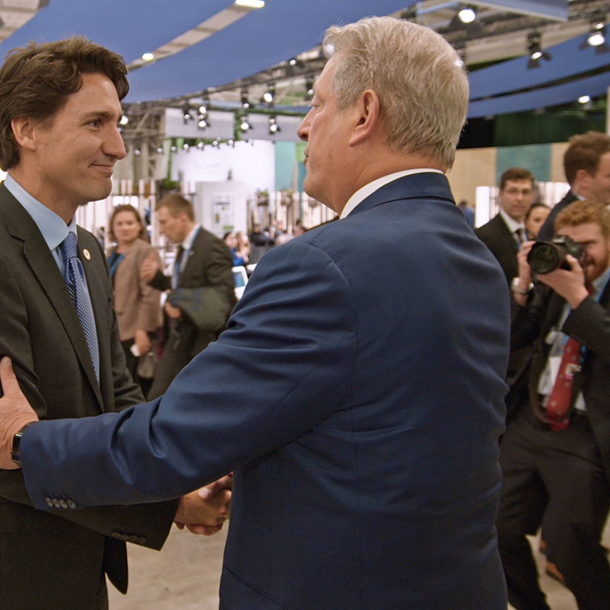 Justin Trudeau and Al Gore in An Inconvenient Sequel: Truth to Power
