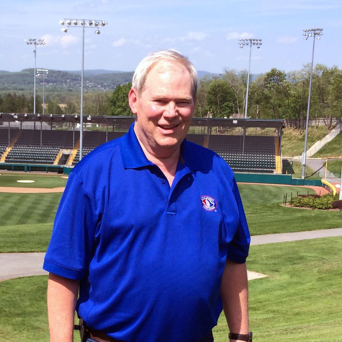 Houston, Bruce Hicks Little League umpire, August 2017, Bruce Hicks in Williamsport