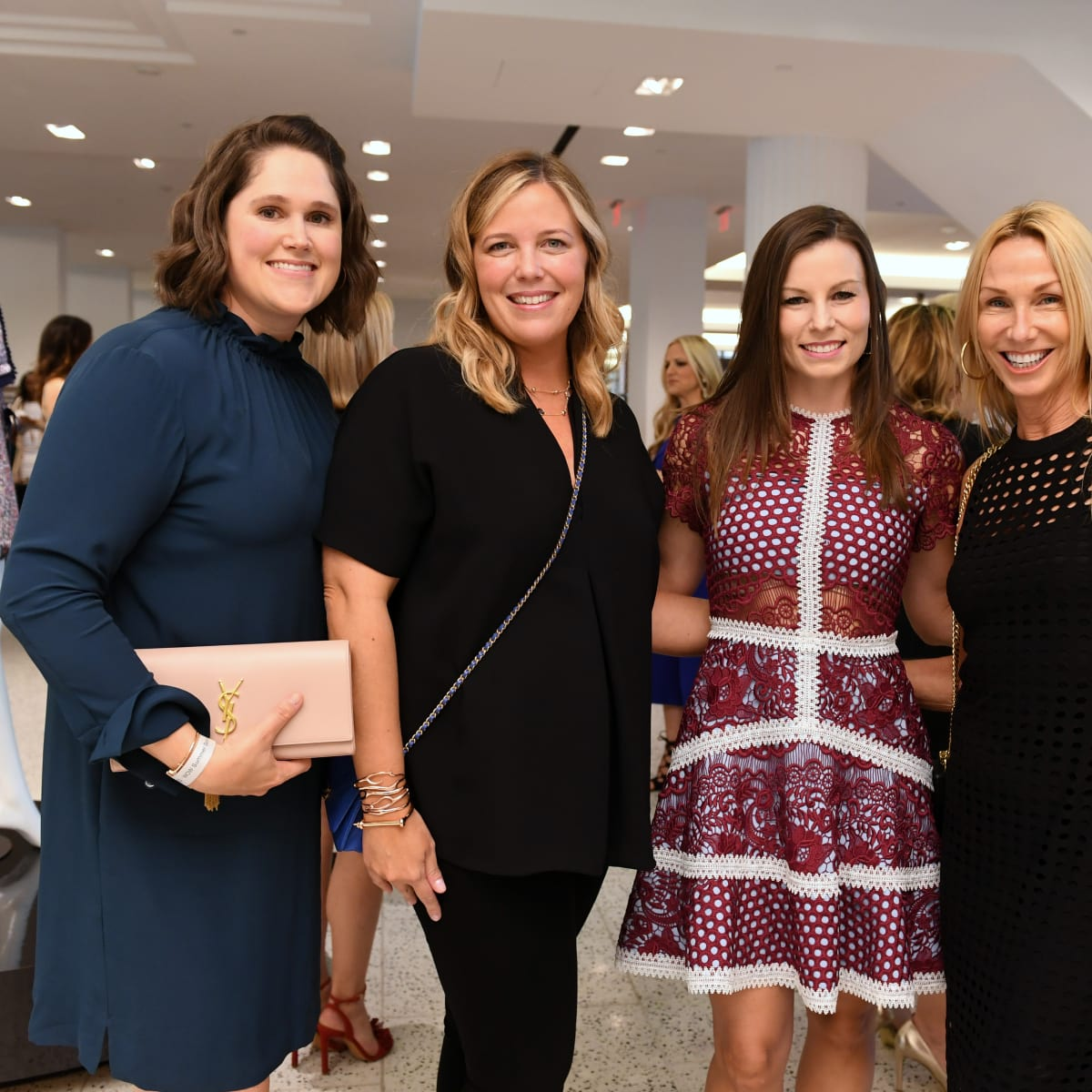 Houston, Women of Wardrobe Summer Soiree, August 2017, Kim Hartz, Melissa Sugulas, Alison Johnson, Melissa Dobrowski