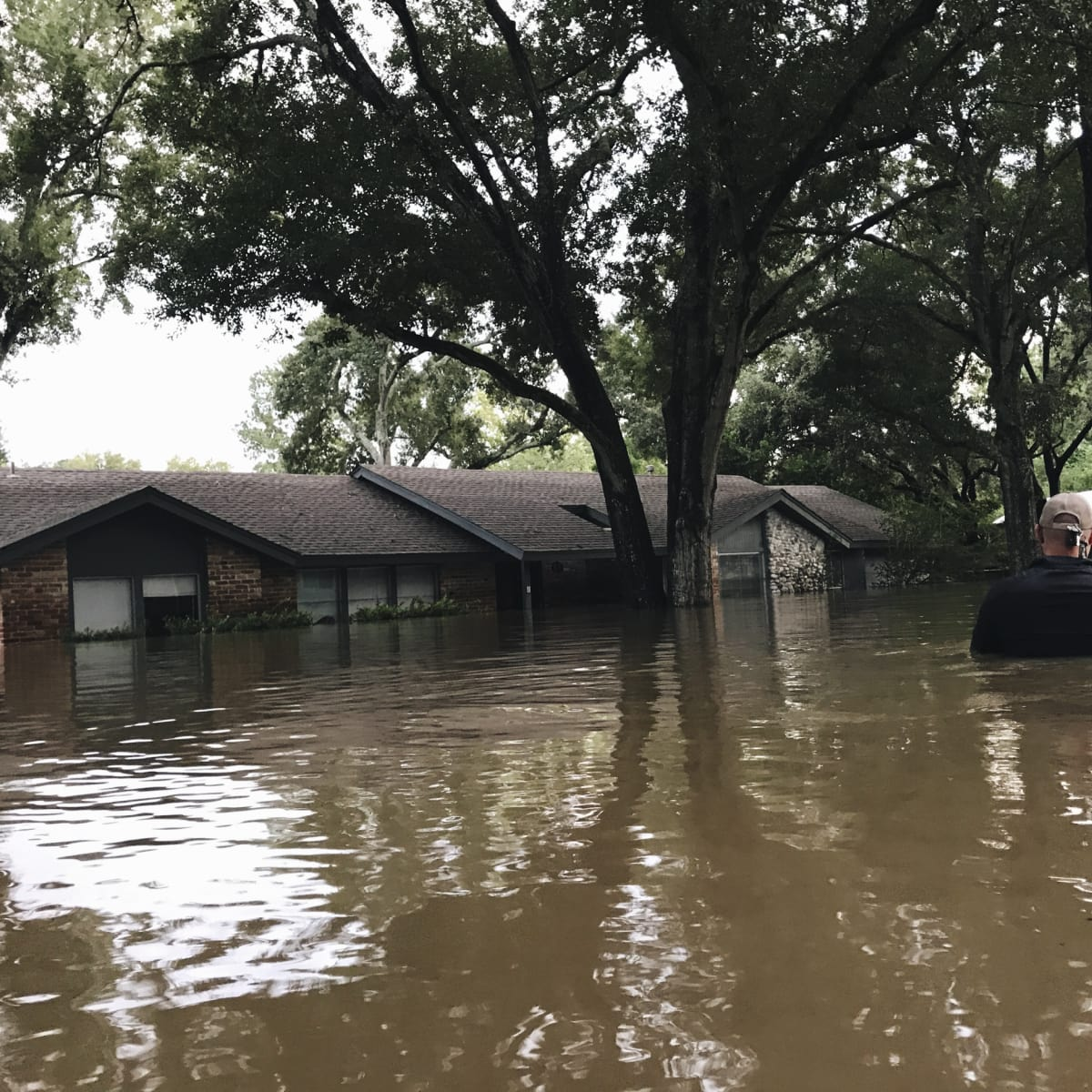 Hurricane Harvey flooding in Houston