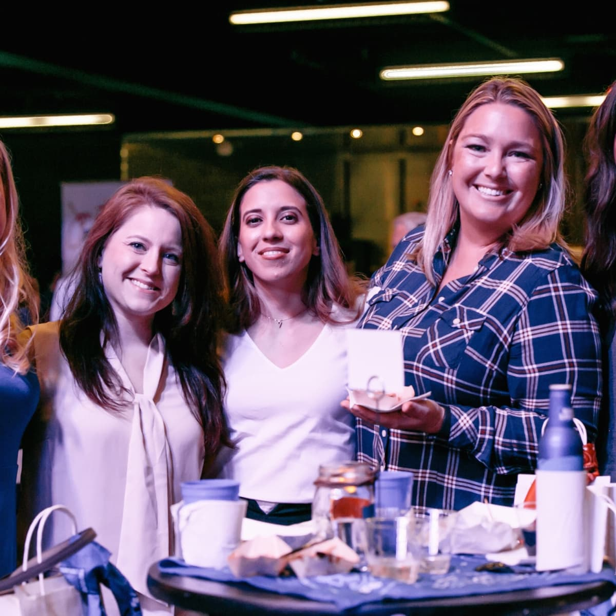 Camp for All Culinary Challenge Ellen Pennington, Meagan Messer, Nicole Till, Nikki Mitchell, and Erin Marzouki