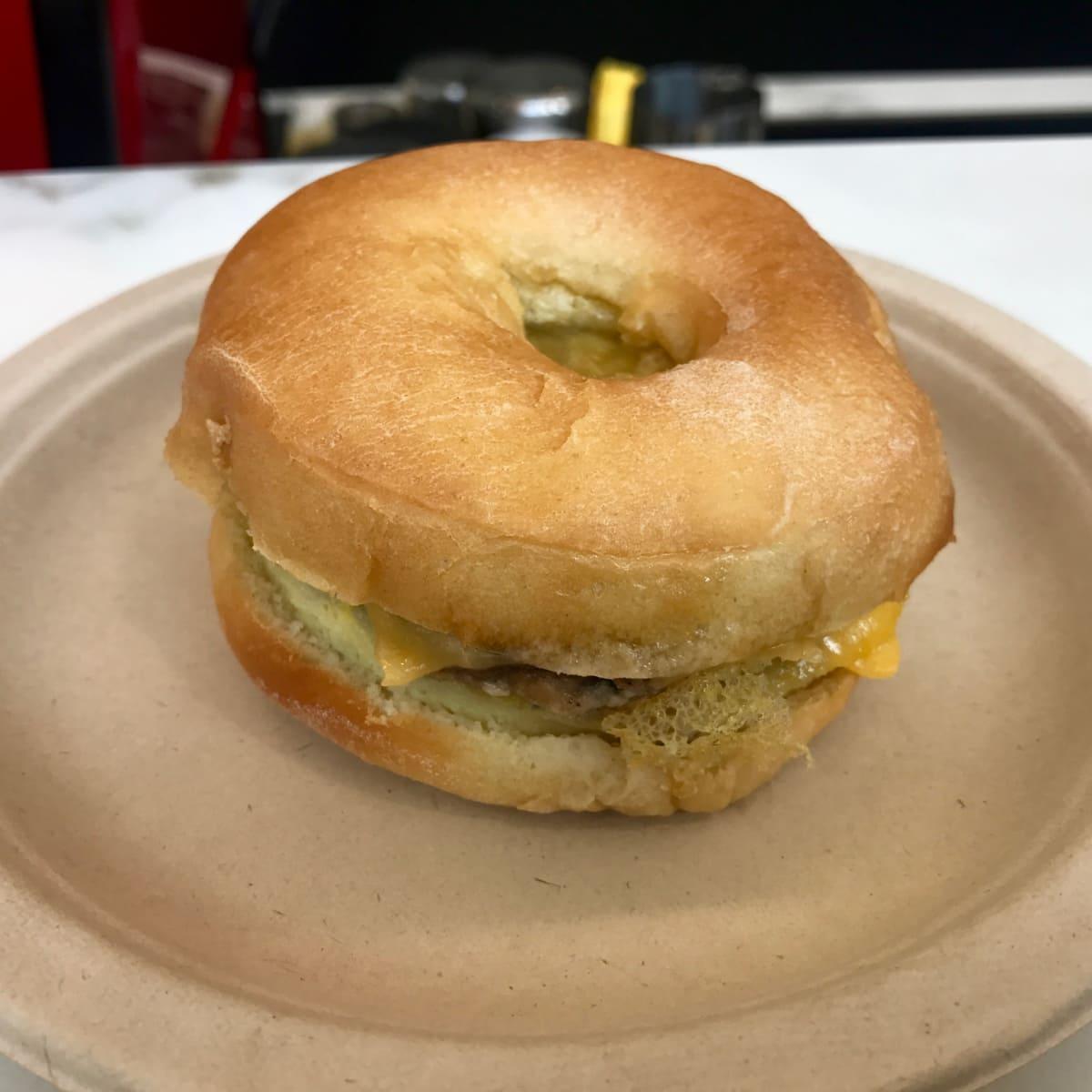 Prelude Coffee breakfast sandwich