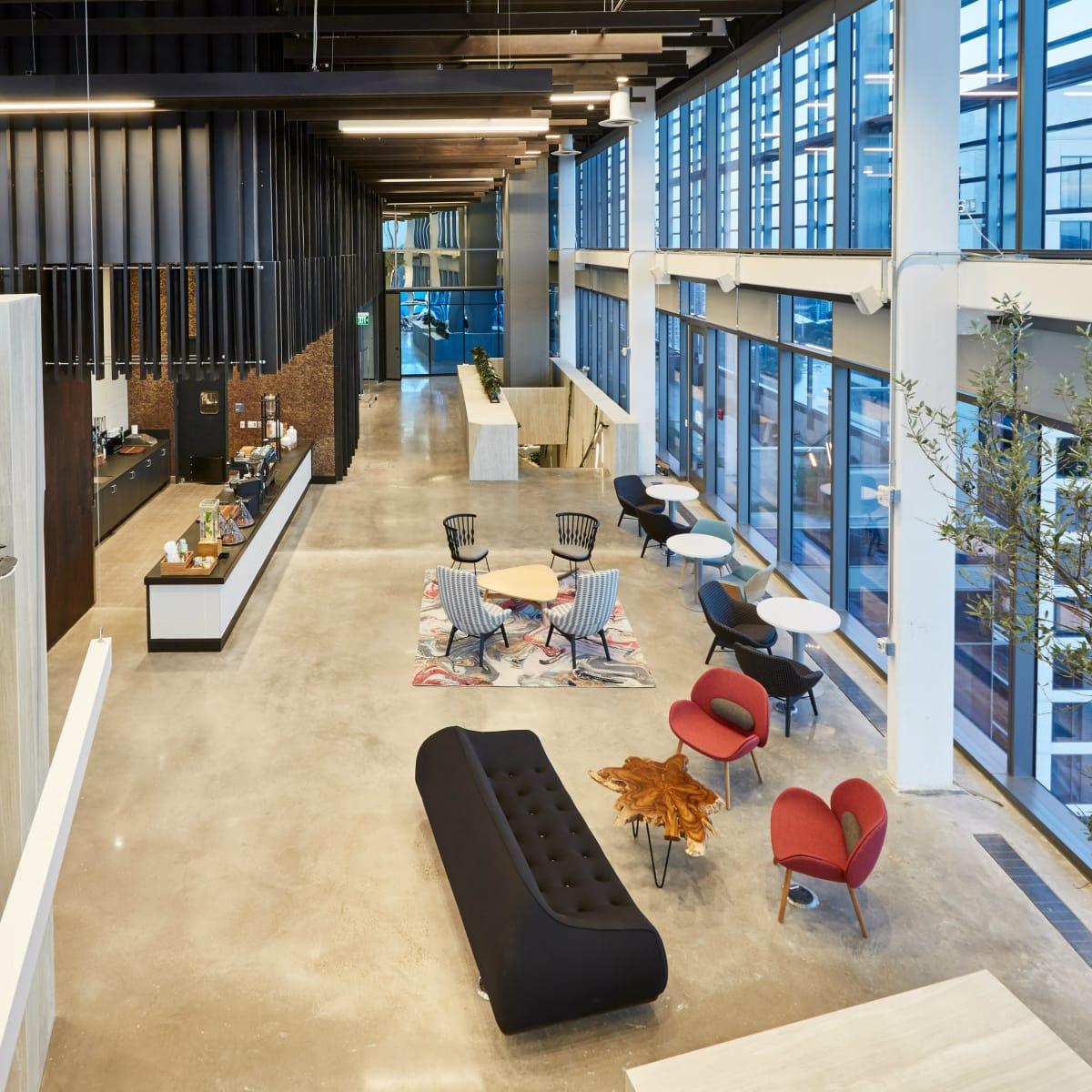 Google Austin office coffee bar