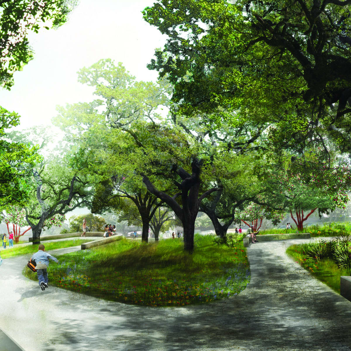 Waller Creek Plans Hill Country Garden