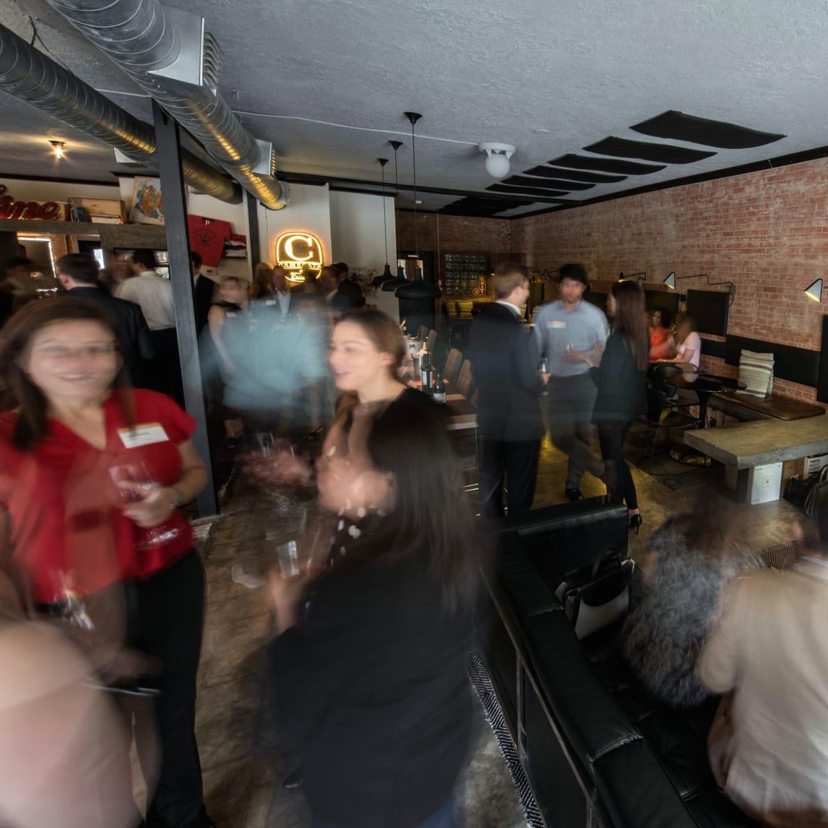 Houston, Camerata wine bar, September 2017