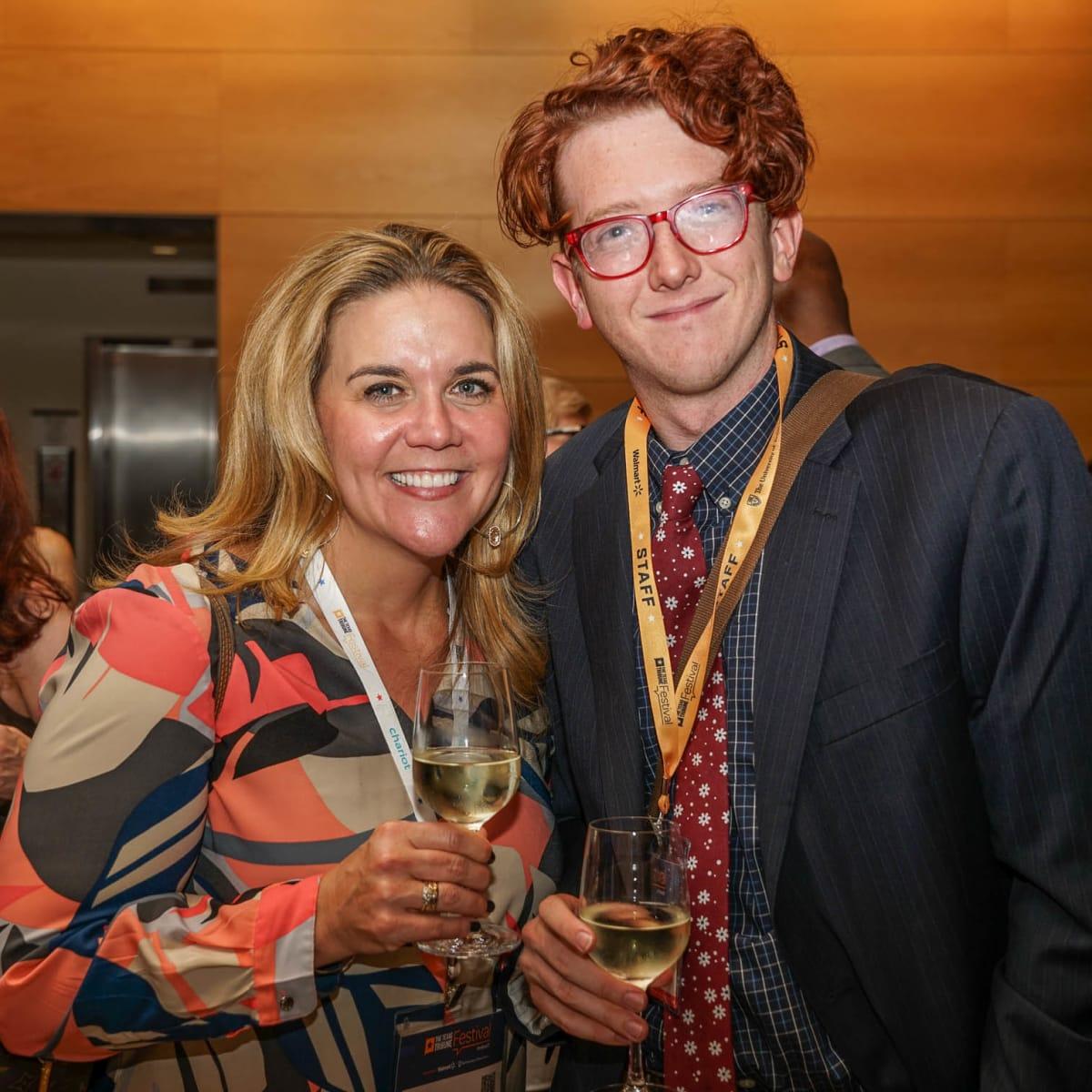 Texas Tribune Festival 2017 VIP Party at Harry Ranson Center Jennifer Sarver Bobby Blanchard