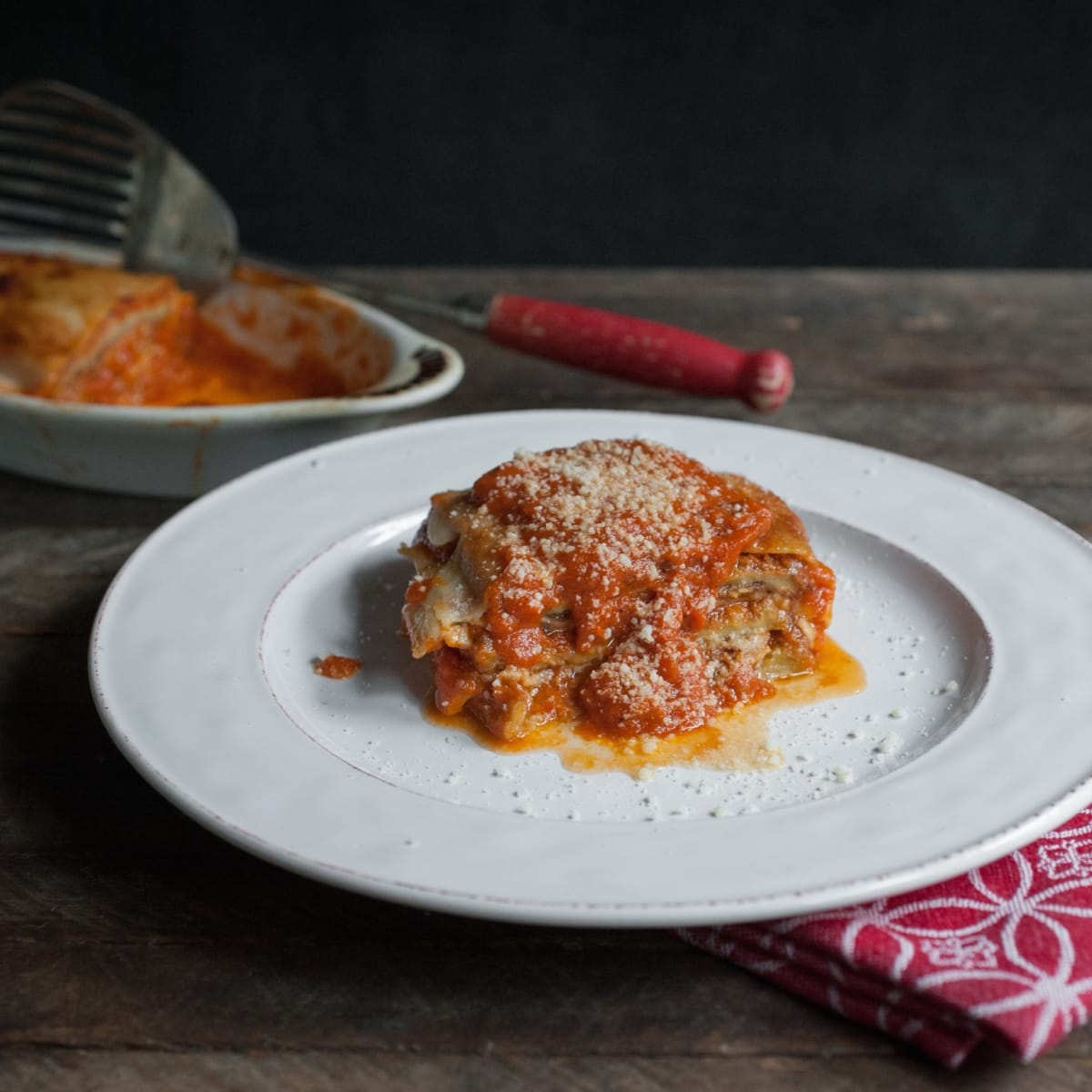 Paulie's cookbook eggplant parmesan