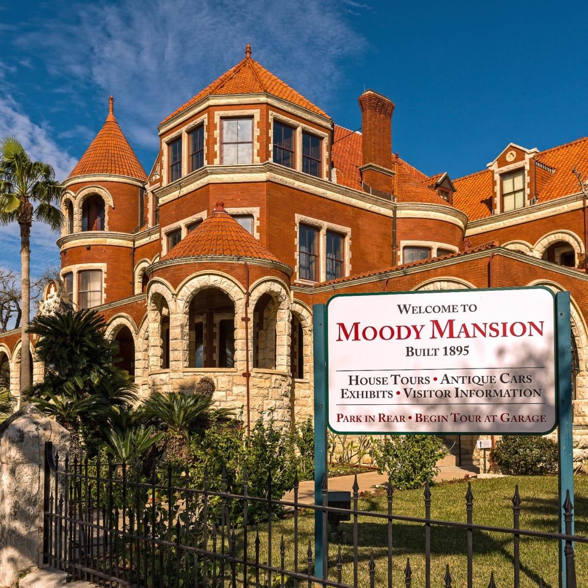 Moody Mansion in Galveston