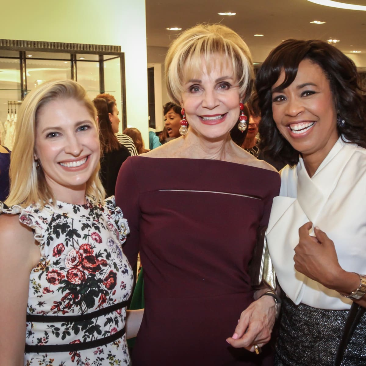 Isabel David, Leisa Holland Nelson and Gina Gaston/Women of Distinction
