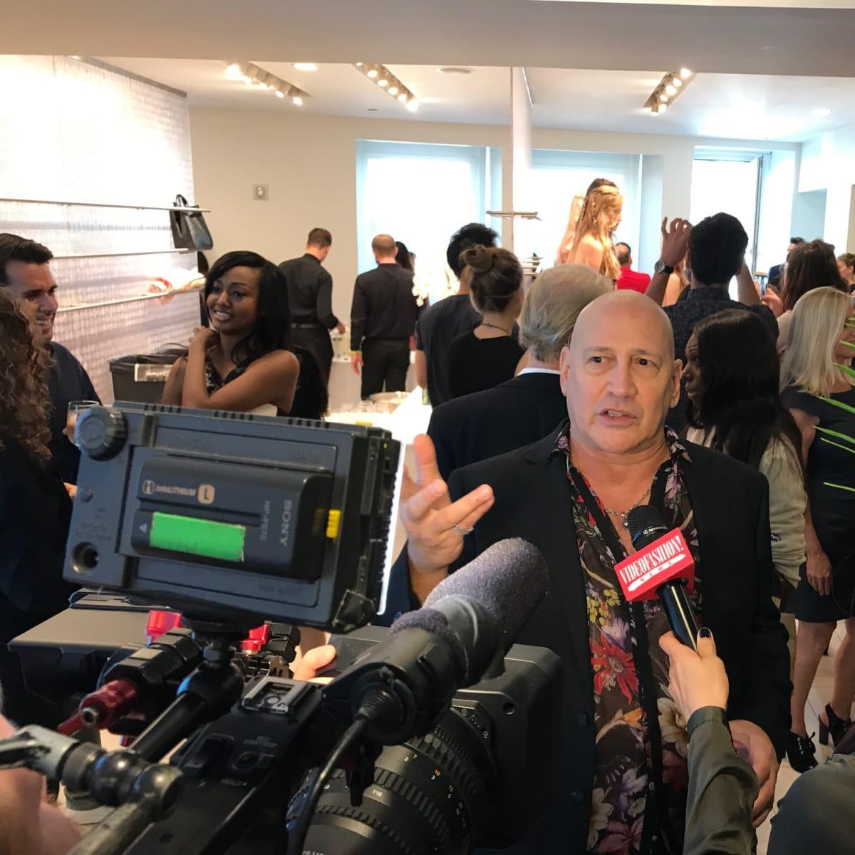 Carmen Marc Valvo at spring 2018 presentation