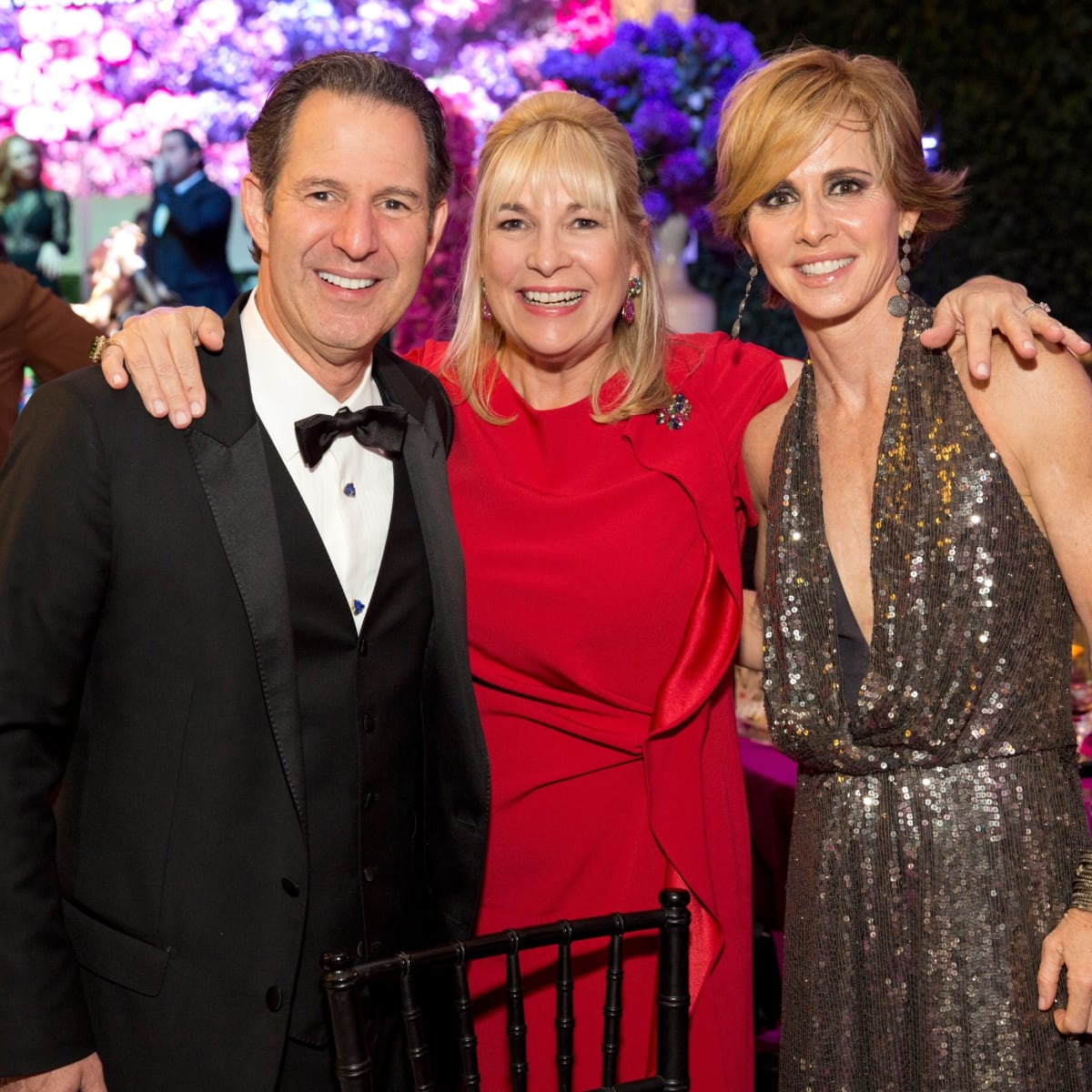 Kitch Taub; Nancy Abendshein; Martha Katherine Long at Museum of Fine Arts Houston Gala