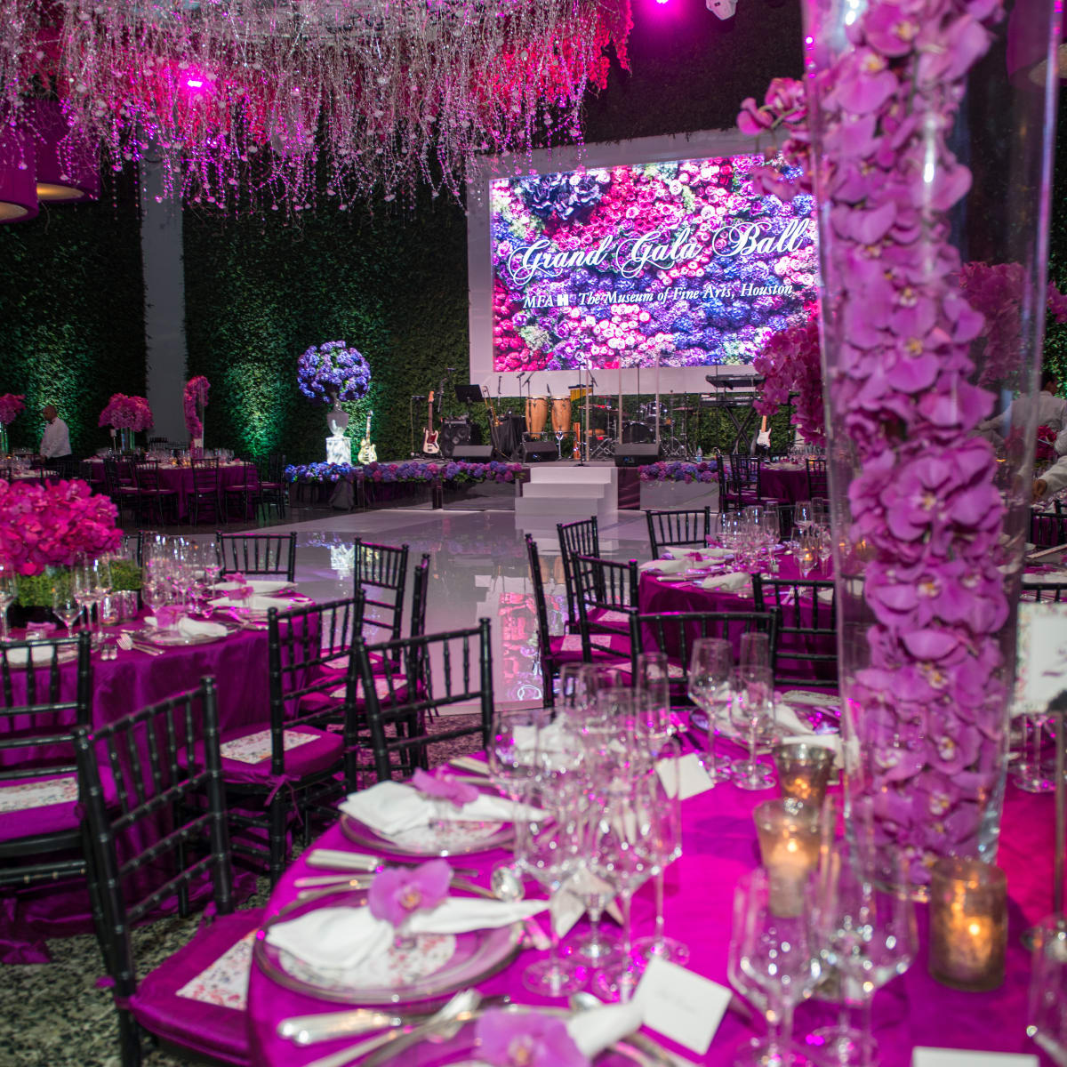 MFAH Grand Gala decor by Richard Flowers