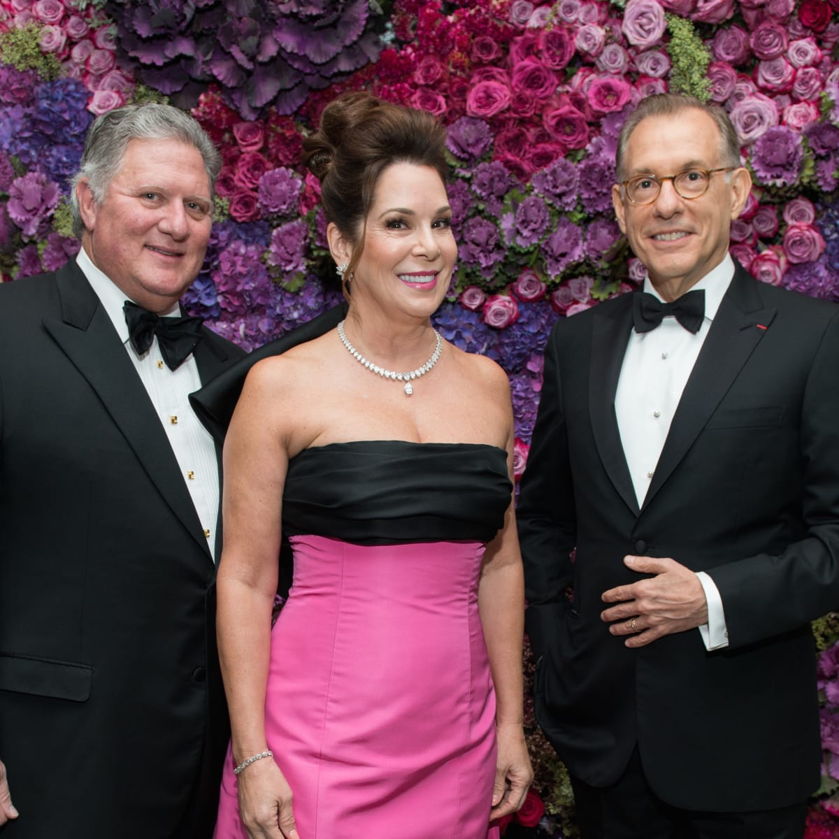 Jim Flores, Cherri Flores, Gary Tinterow at MFAH Grand Gala Ball