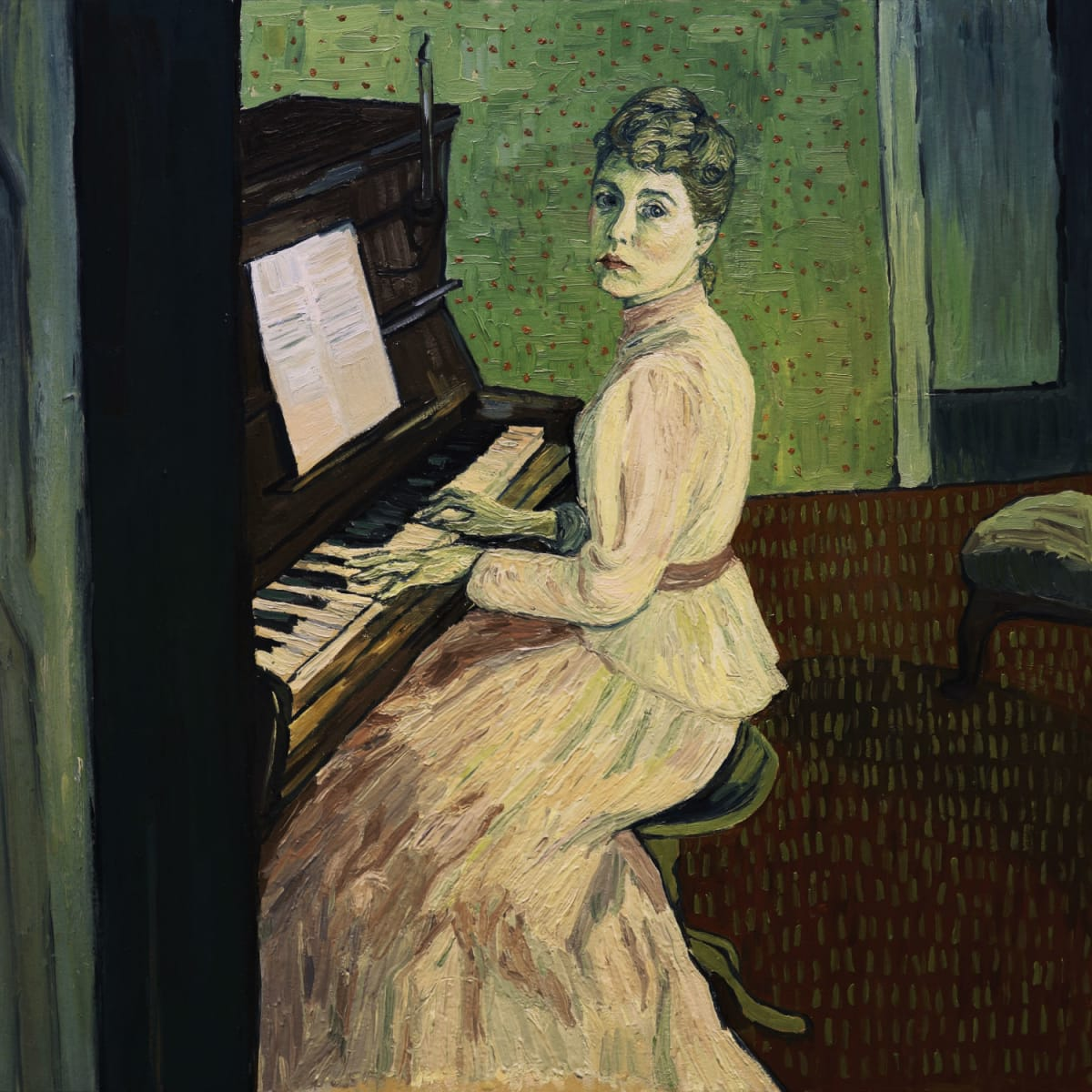 Saoirse Ronan as Maguerite Gachet in Loving Vincent