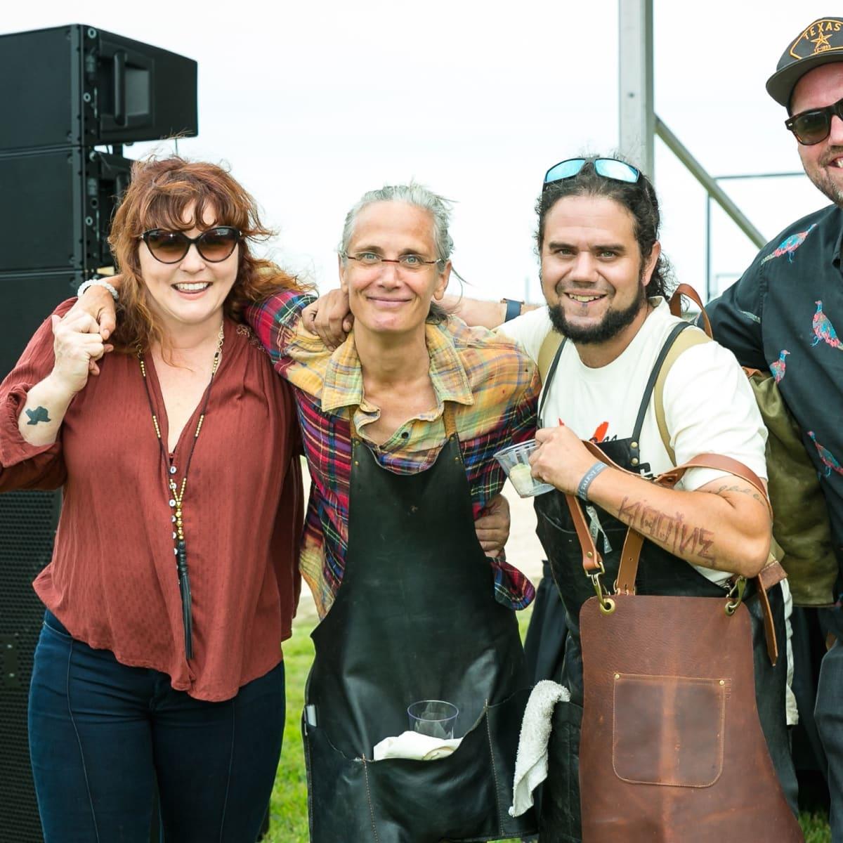Butcher's Ball 2017 Elaine Dillard Monica Pope Jonathan Beitler