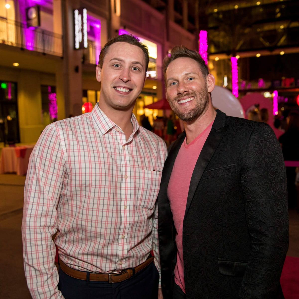 Houston, Marcy, West Ave Pink Party, October 2017, Stephen Hinson, Robert King Levy III