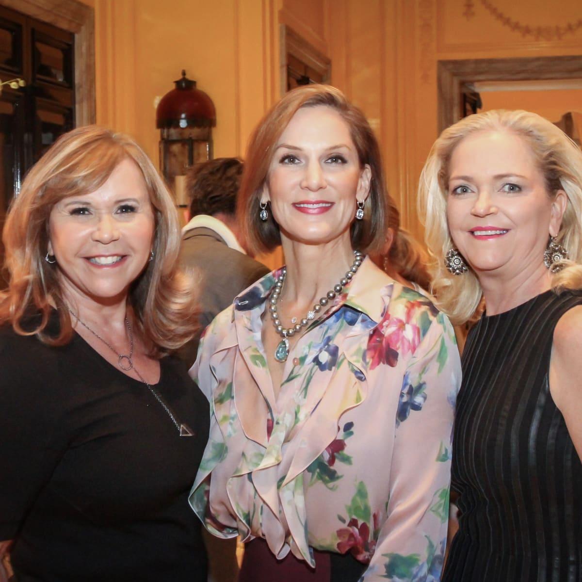 Legacy Cocktail Party, Cyndy Garza Roberts, Katherine Murphy, Chree Boydstun