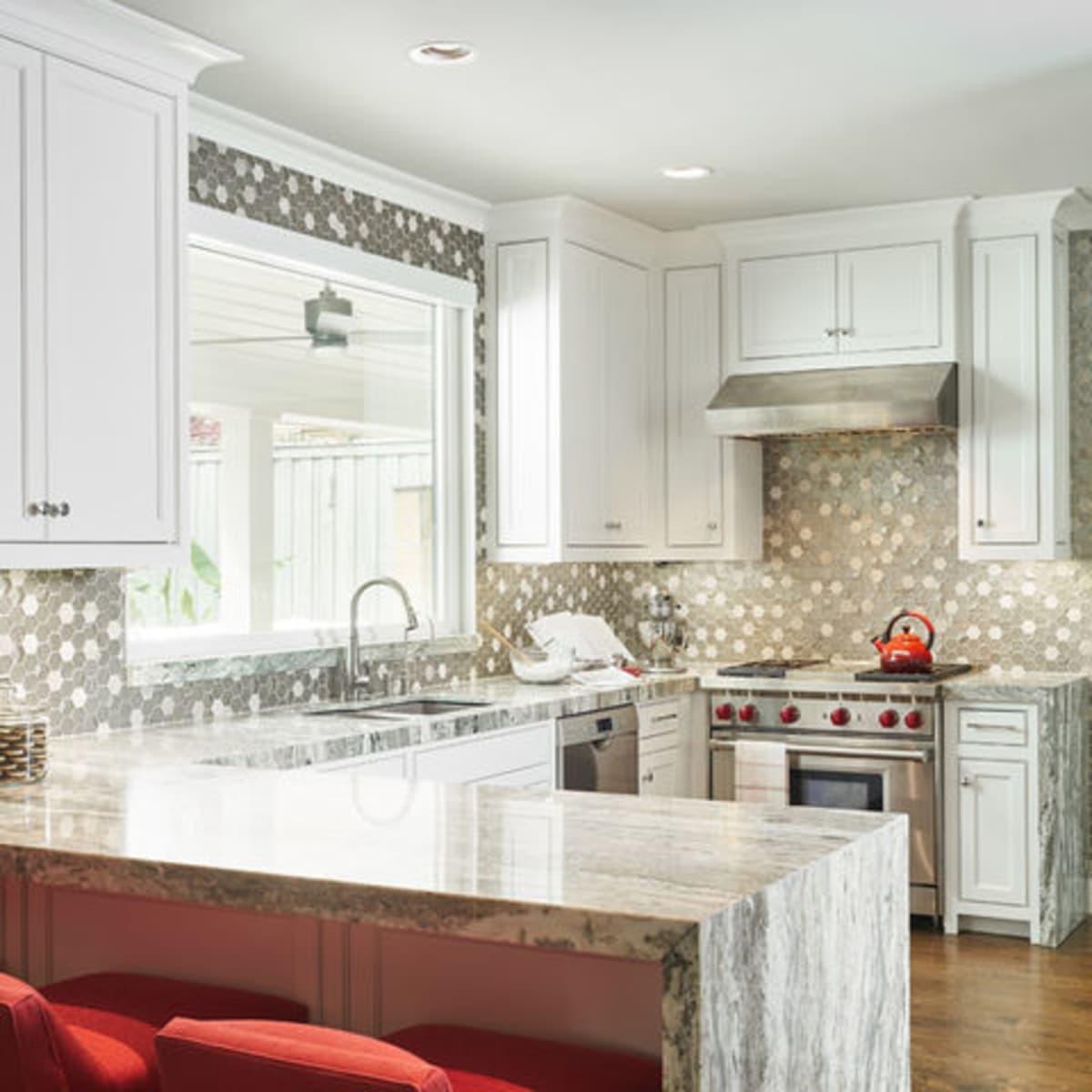 Houzz luxury estate remodel Dallas kitchen