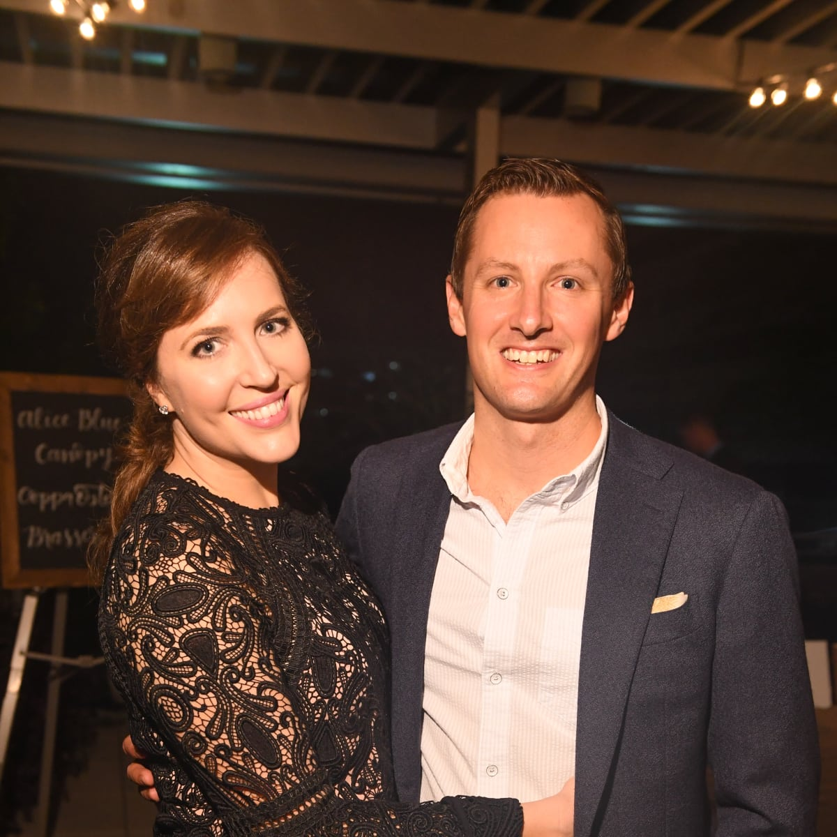 Mary Patton, Ben Patton at Dress for Success Cuisine for a Cause