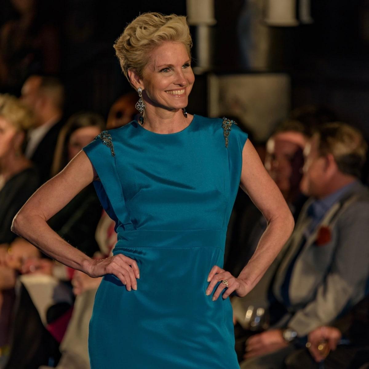 Salute Houston fashion show Elizabeth Anthony