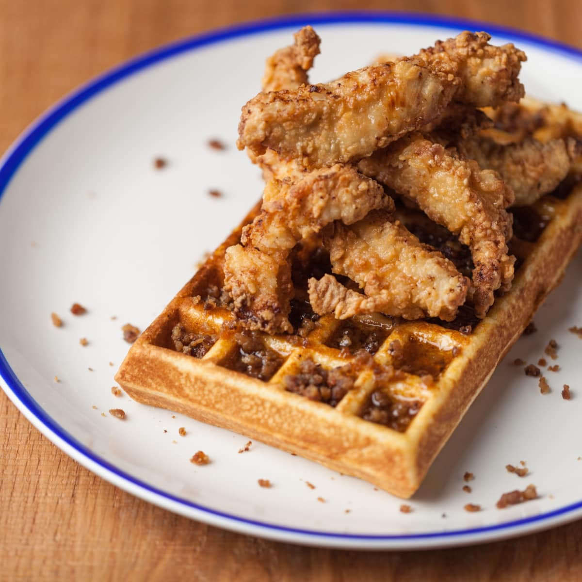 Fielding's Rooster brunch chicken and waffles