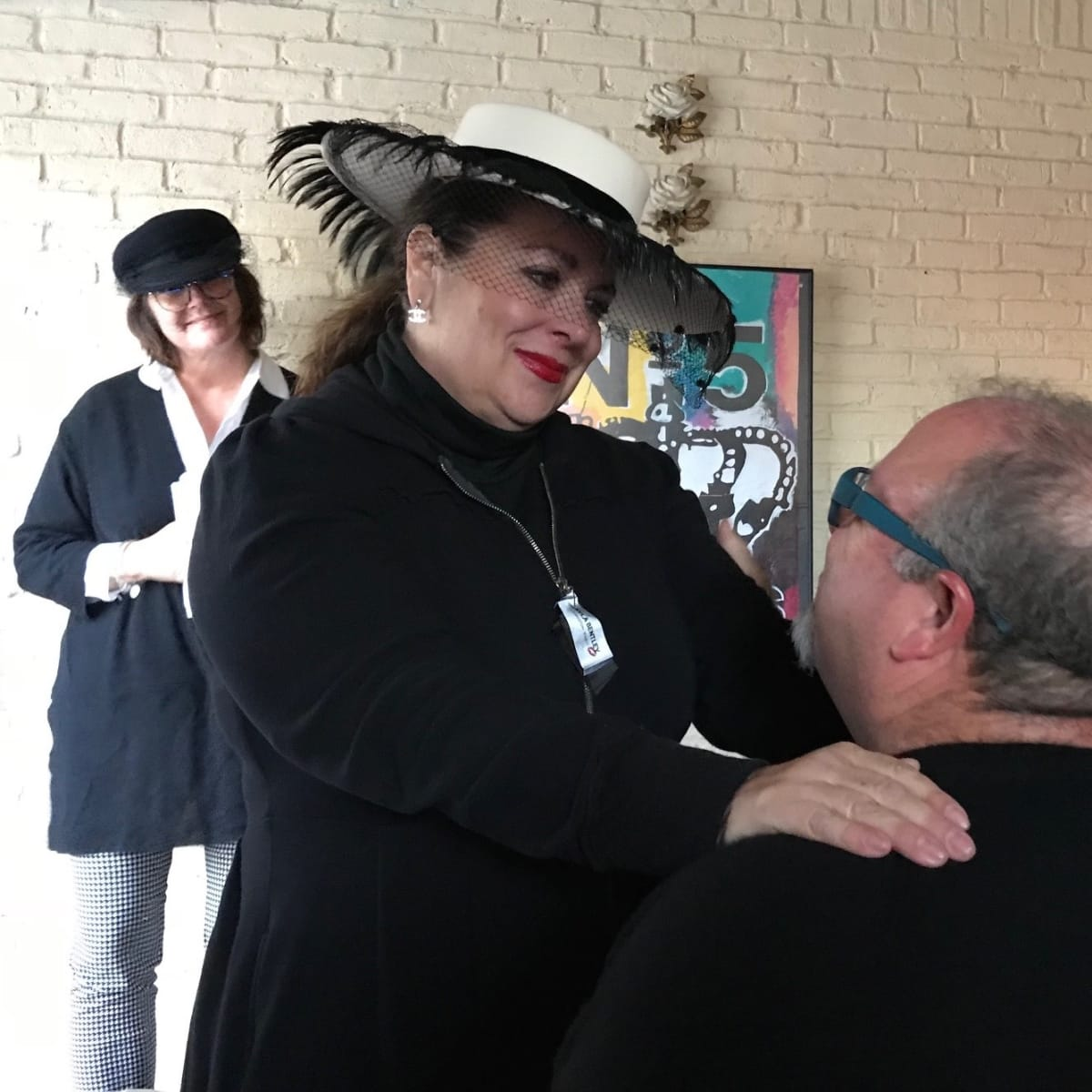 Gayla Bentley Fashion Funeral with husband Russell