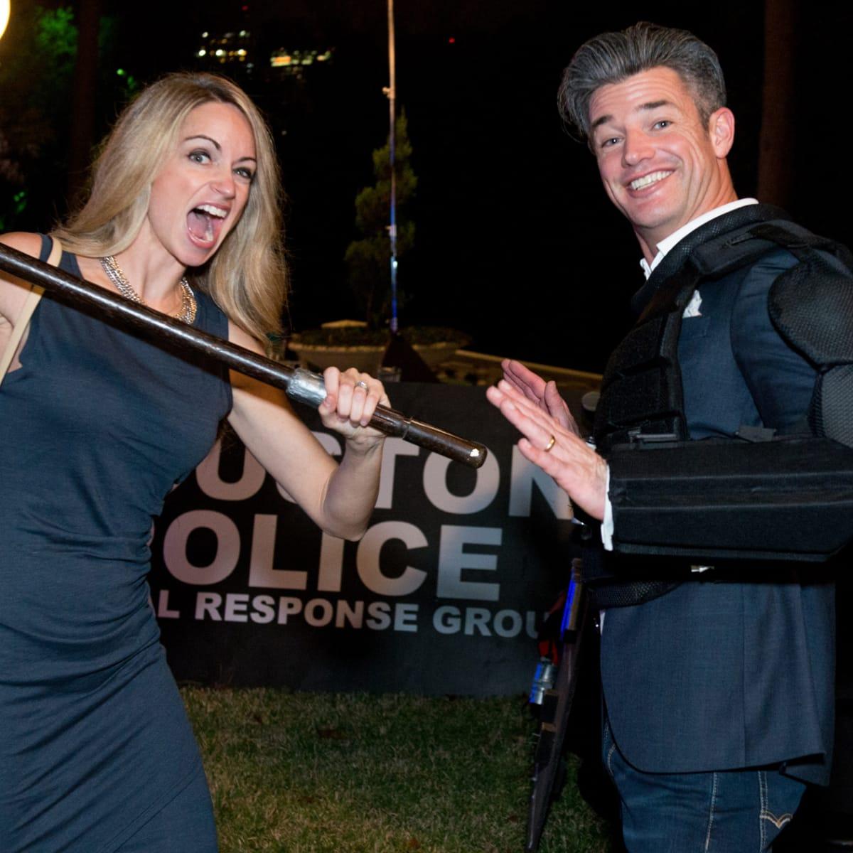 Houston, True Blue Gala, November 2017, Brittany Cerroni, Mark Cerroni