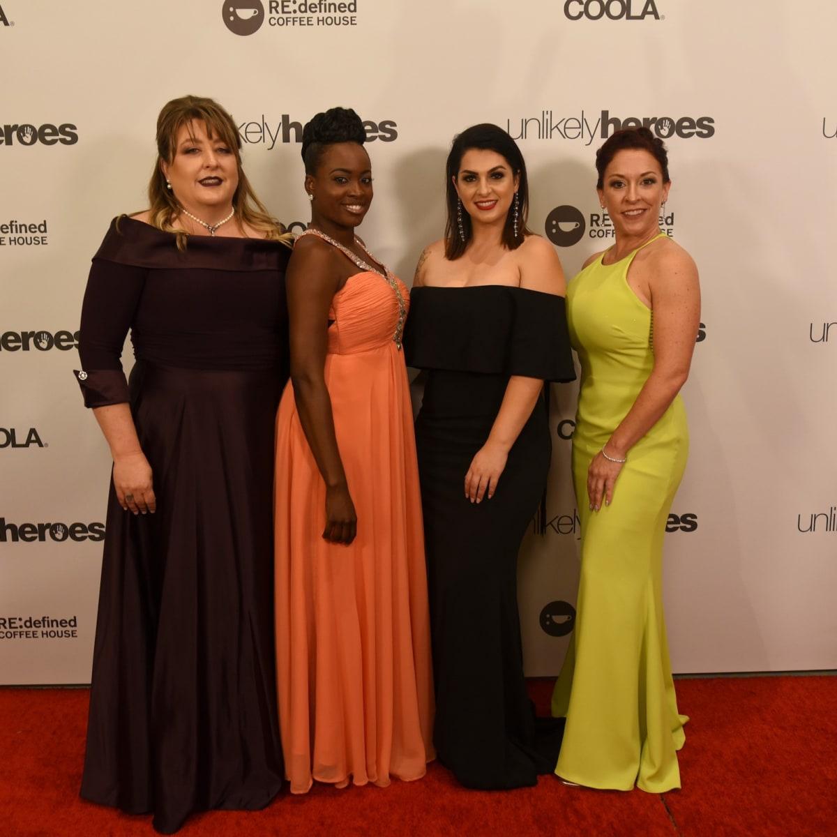 Toni McKinley, Shamere McKenzie, Rebecca Bender, Rebekah Charleston