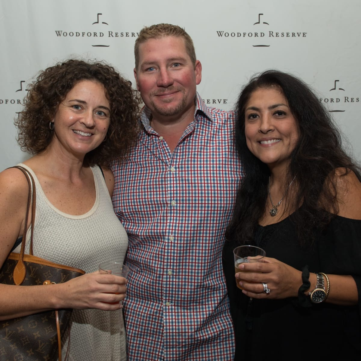 Holiday Spirit Social 2017 Melissa  Sykora, Sean Sykora, Lisa Normand