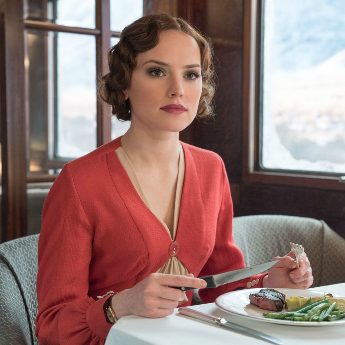 Daisy Ridley in Murder on the Orient Express